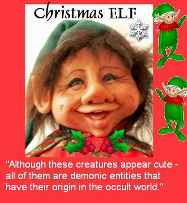 CUTE ELVES ARE DEMONIC IN ORIGIN