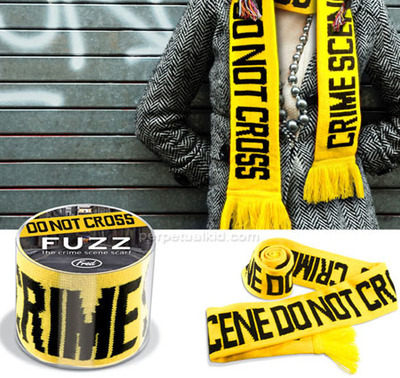 Weird Product of the Day: The Crime Scene Scarf